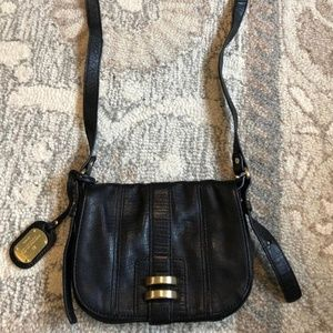 BCBG Maxazria crossbody leather purse